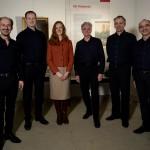 Carus-Quintett mit Museumsleiterin in der neuen Sonderausstellung
