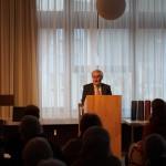Grußwort durch Herrn Oberndorfer, Vizepräsident des Schwäbischen Chorverband e.V.