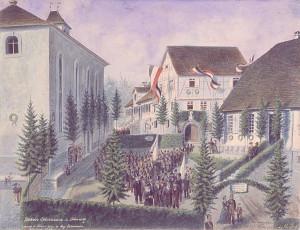 Silchers_Geburtshaus_mit_Prozession_web