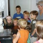 Kindergruppe zum Sommerferienprogramm