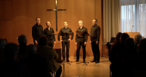 Gesang des Carus-Quintetts